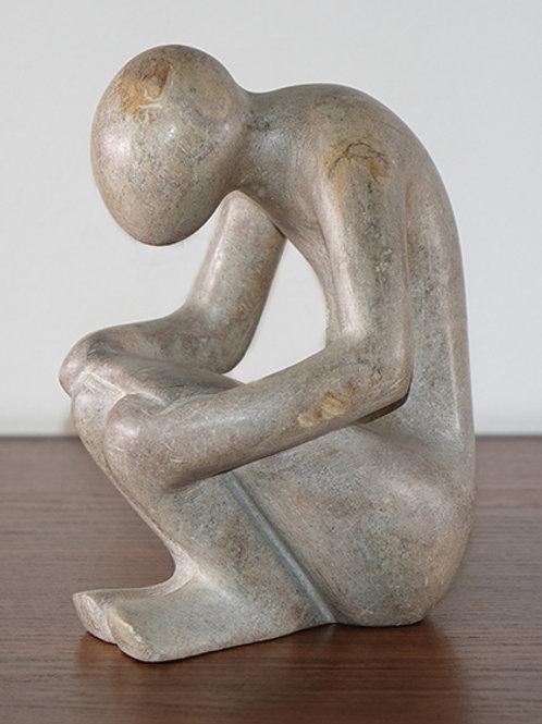 Mbigou stone statue