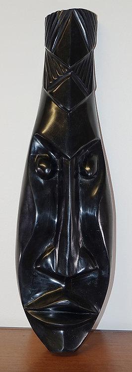 Ebony carved mask