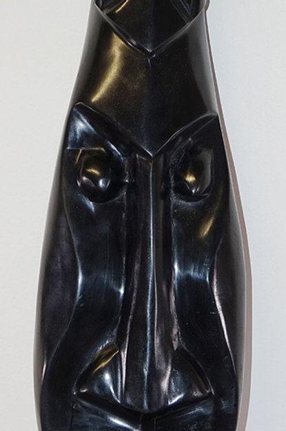 Ebony carved mask