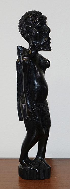 Ebony statue