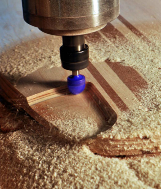 CNC cutting wood Czechia