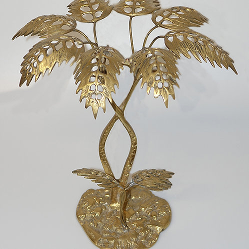 Decorative brass tree