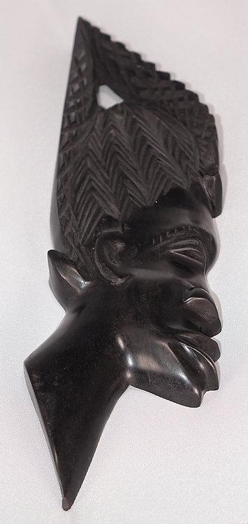 Ebony carved head