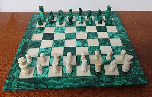 Malachite chess game
