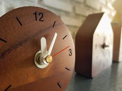 Wooden clock Czechia