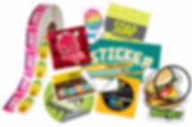 Stickers - NÁLEPKA Printing from 63 kc Atencom Czechia