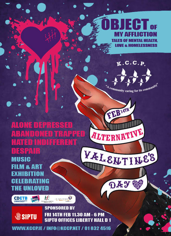 Object of my Affliction  - Alternative Valentine's Day  Art Exhibition