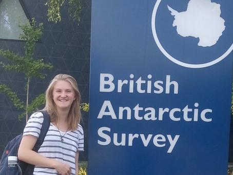 Pippa Stevens - British Antarctic Survey