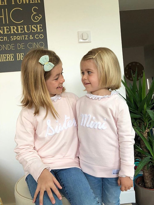 Sweat enfant - Rose pastel