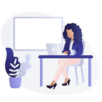 Black Woman Using Laptop C.jpg