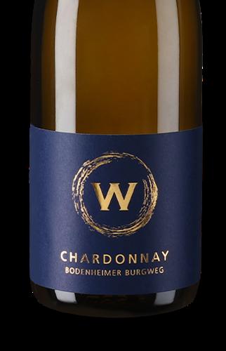 2018er Chardonnay trocken Bodenheimer Burgweg