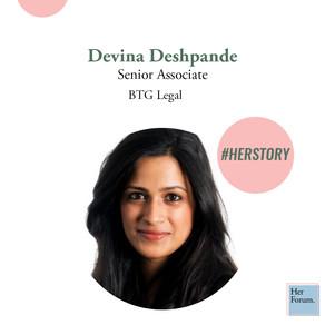 #HerStory with Devina Deshpande