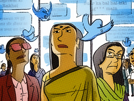 India's Democratic Politics in 2021: A Saga of Patriarchal Jibe and Defamation