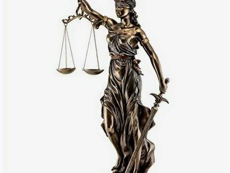 Blind Justitia, Sleeping Justice