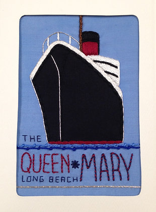 Embroidered Postcard (Sept. 25)