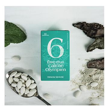 6 - Être d'un calme olympien