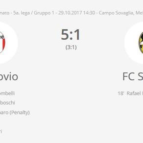 AS Rovio - FC Stabio 5 -1 / le pagelle