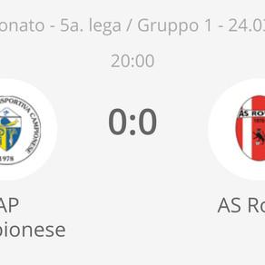 AP Campionese - AS Rovio 0-0