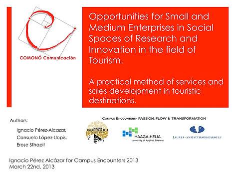 COMONO Comunicación Consultoria turismo Innovación abierta