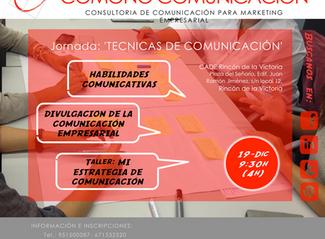 """JORNADA """"Técnicas de Comunicación"""""""