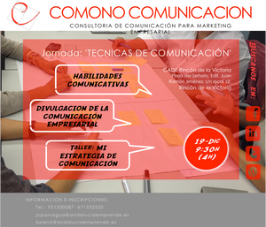 Jornada Comunicación CADE COMONÓ