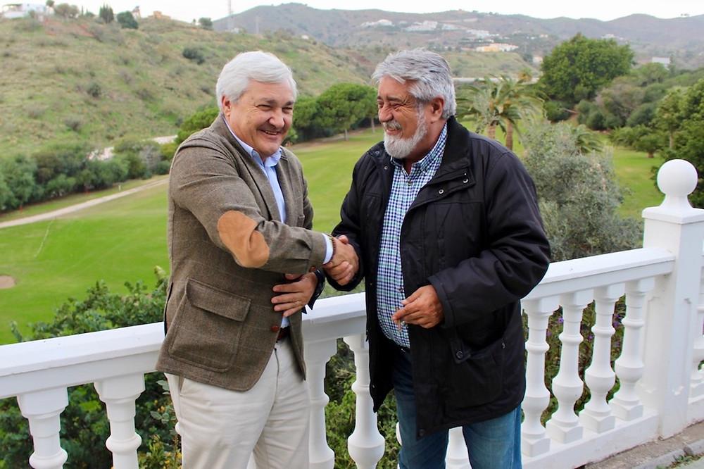 Ángel Acha y Juan José García Montesinos