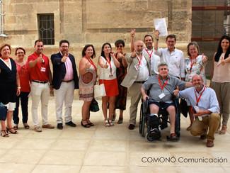 COMONÓ Comunicación acompaña a SOHA al Parlamento Andaluz