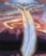 Angel over Mt Shasta - Bruce Harman