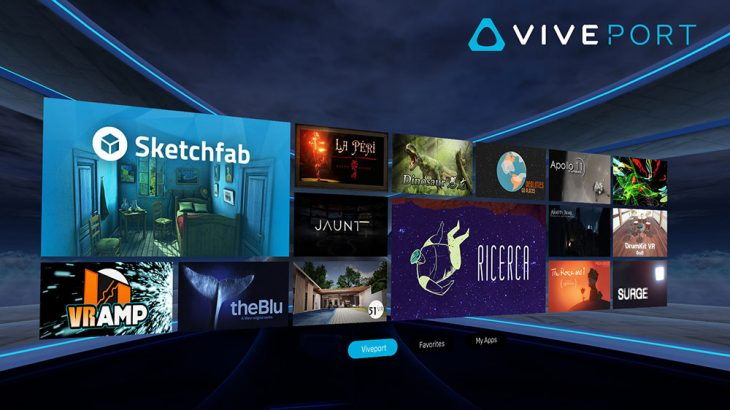 VivePort and Vive Home