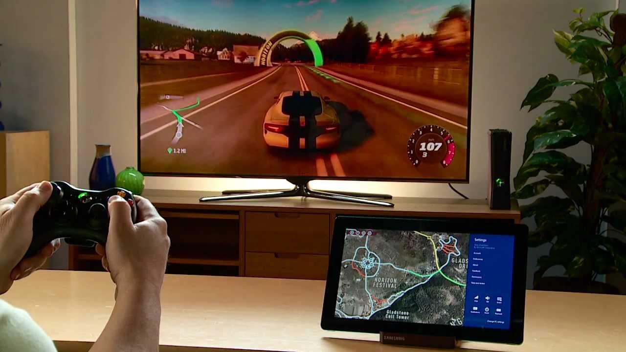 SmartGlass on Forza Horizon