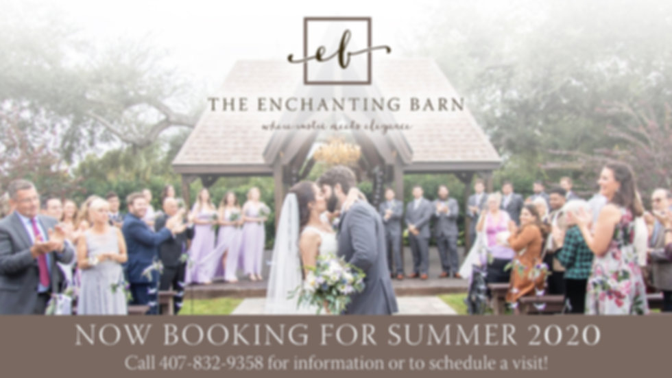 The Enchanting Barn - Barn Weddings in F