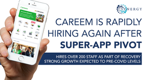 Careem, the Dubai-based app has reported a hiring spree after launching the new 'Super-App'