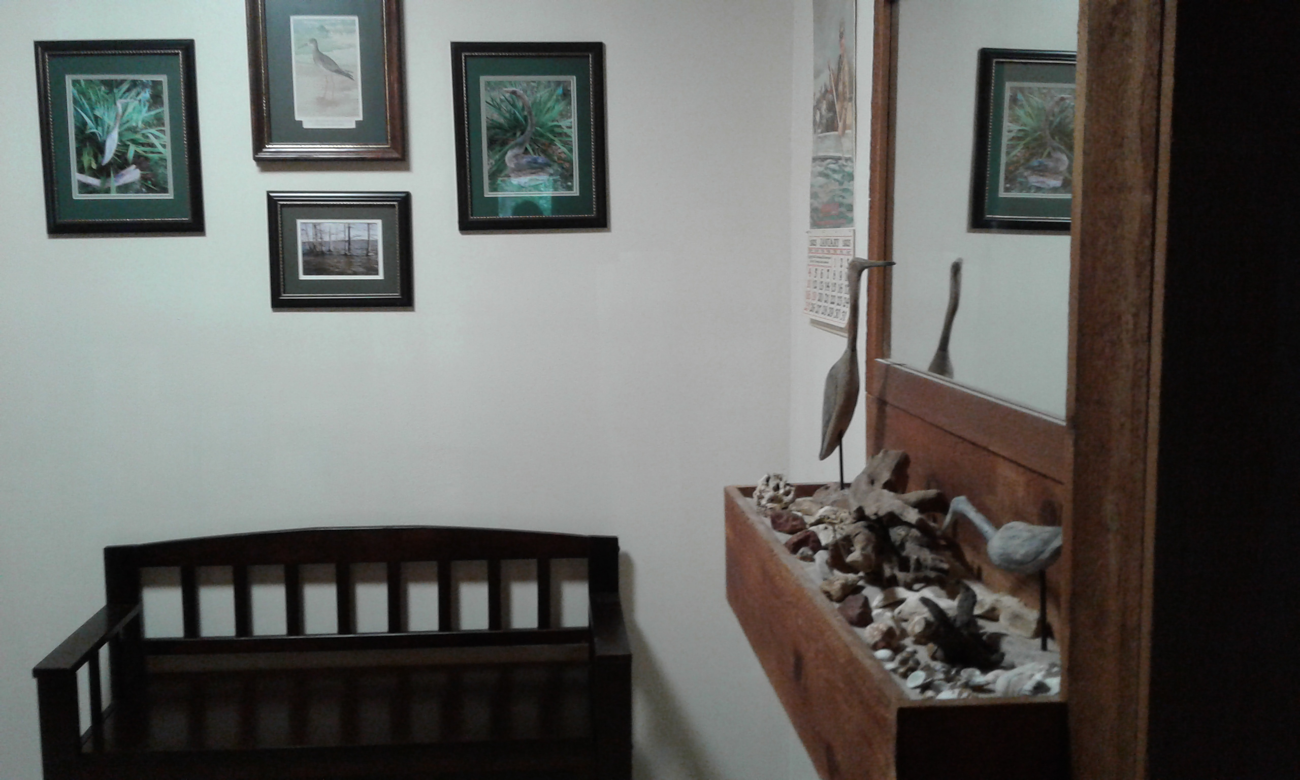 Driftwood  Hall Display