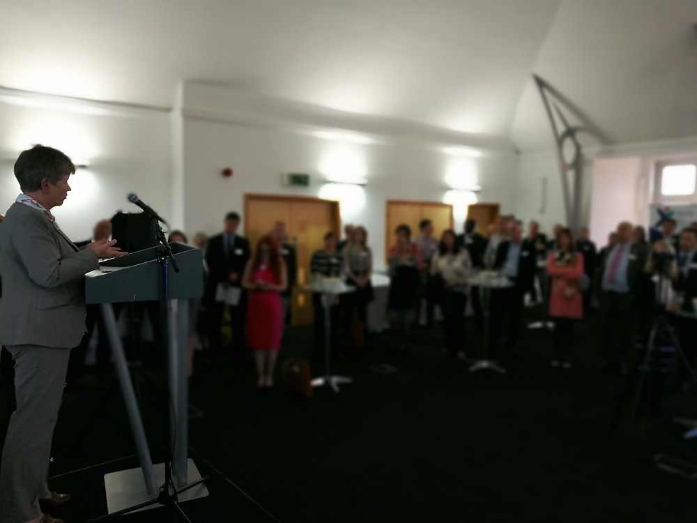 Jane Hutt AM launching Social Business Growth Fund