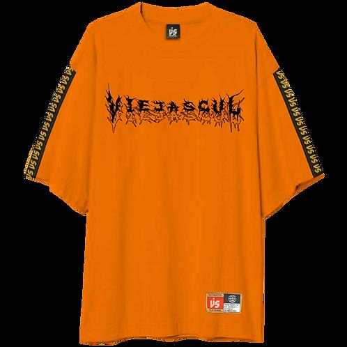 Orange Metal Oversize