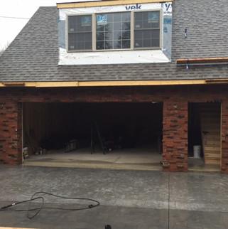 Second Story Garage Addition