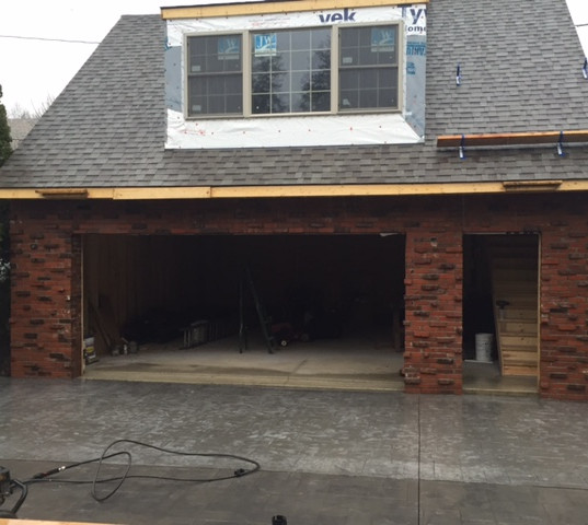 Second Story Garage Addition