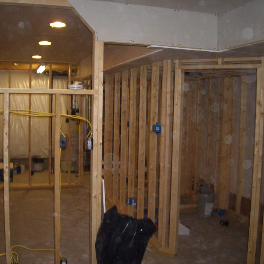 Interior of Residential Home Addition