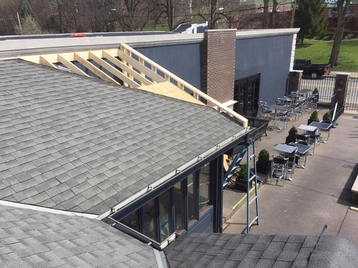 Commercial Roof Addition