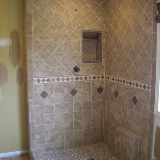 Tile Shower Remodel