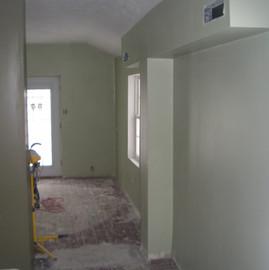 Home Entryway Reconfiguration & Remodel