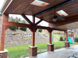 Outdoor Patio Ceiling