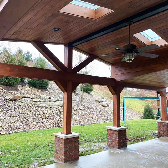 Outdoor Patio Ceiling