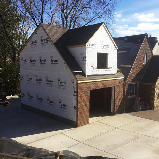 Two story Garage Addition