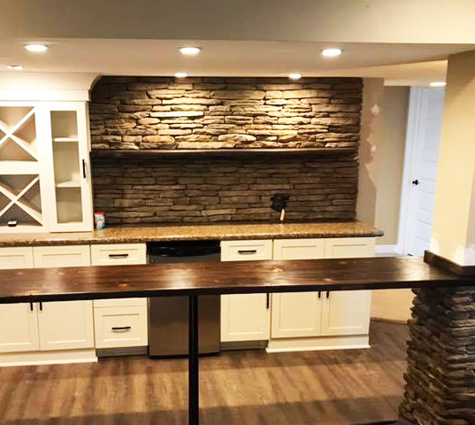Basement Remodel/Bar