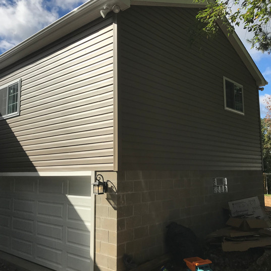 Garage & Second Story Addition