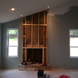 Addition/Interior Remodeling & Fireplace Installation