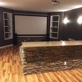 Basement Remodel/Entertainment Room