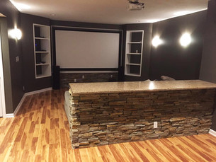 Refinished Basement Project