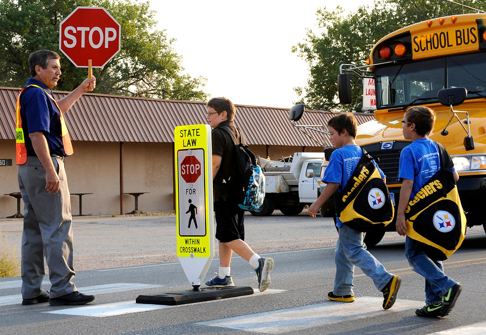 Crossing Guard Stop Signs